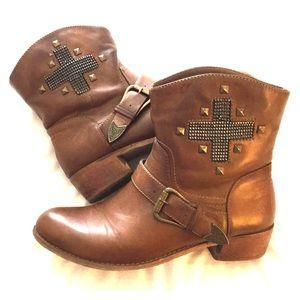 Western Brown Bootie